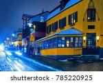 laugavegur street  during a... | Shutterstock . vector #785220925