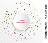 Bright Colorful Confetti In...