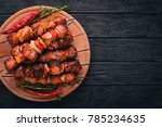Shish Kebab On Skewers With...