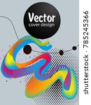 covers templates set with... | Shutterstock .eps vector #785245366