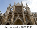 The Westminster Abbey Church....