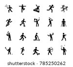 sports activity icon set | Shutterstock .eps vector #785250262