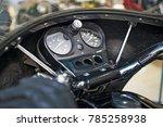 speedometer of motorcycle on a... | Shutterstock . vector #785258938