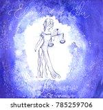 astrology sign libra | Shutterstock .eps vector #785259706