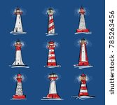 a set of illustrations of... | Shutterstock .eps vector #785263456