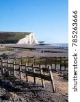 cuckmere haven  sussex beach ...   Shutterstock . vector #785263666