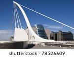 the samuel beckett bridge is... | Shutterstock . vector #78526609