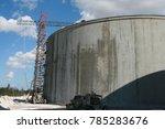 a water reservoir under... | Shutterstock . vector #785283676