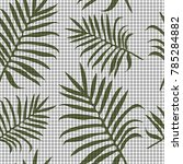 simple seamless pattern with...   Shutterstock .eps vector #785284882