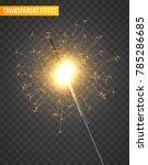 vector light sparkler...   Shutterstock .eps vector #785286685