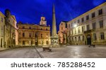 arles old town with the town...   Shutterstock . vector #785288452
