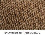 brown fabric  texture | Shutterstock . vector #785305672