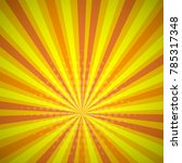 yellow orange colored summer... | Shutterstock .eps vector #785317348