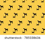 design patterns of cats and dogs   Shutterstock .eps vector #785338636