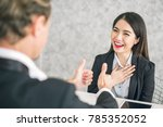 boss business man employer... | Shutterstock . vector #785352052