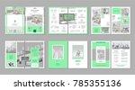 brochure creative design.... | Shutterstock .eps vector #785355136