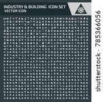 industry and building icon set | Shutterstock .eps vector #785366056