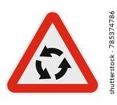 circular motion icon flat