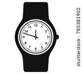 watch icon  wristwatch icon ...   Shutterstock .eps vector #785381902