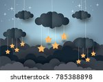 goodnight and sweet dream... | Shutterstock .eps vector #785388898