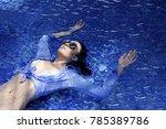 fashion girl beautiful woman in ...   Shutterstock . vector #785389786