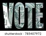 vote  american politics and... | Shutterstock . vector #785407972