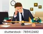a vector illustration of... | Shutterstock .eps vector #785412682