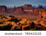 Sunset In Hunts Mesa Navajo...
