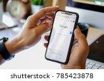 chiangmai  thailand   jan 02... | Shutterstock . vector #785423878