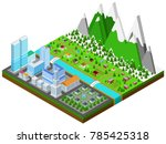 graphic building real estate... | Shutterstock .eps vector #785425318