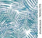 watercolor seamless pattern... | Shutterstock . vector #785431795