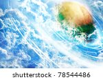 storm watch  rendering of the... | Shutterstock . vector #78544486