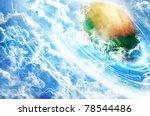 storm watch  rendering of the... | Shutterstock . vector #78544486