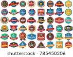 vintage retro vector logo for...   Shutterstock .eps vector #785450206