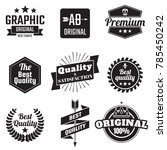 vintage retro vector logo for...   Shutterstock .eps vector #785450242