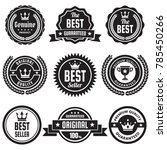 vintage retro vector logo for... | Shutterstock .eps vector #785450266