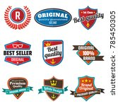 vintage retro vector logo for... | Shutterstock .eps vector #785450305