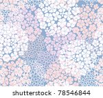 seamless abstract floral... | Shutterstock .eps vector #78546844
