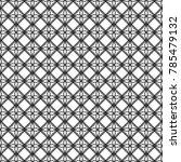 geometric line pattern vector | Shutterstock .eps vector #785479132