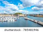 concarneau  france   august 10  ... | Shutterstock . vector #785481946