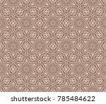 simple seamless geometric... | Shutterstock .eps vector #785484622