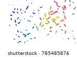 light multicolor  rainbow... | Shutterstock .eps vector #785485876
