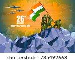 vector illustration of indian... | Shutterstock .eps vector #785492668