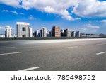 modern buildings in nantong | Shutterstock . vector #785498752
