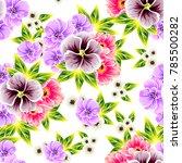 abstract elegance seamless... | Shutterstock .eps vector #785500282