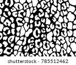 leopard print. vector... | Shutterstock .eps vector #785512462