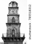 the historic clock tower in the ...   Shutterstock . vector #785518312