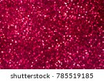 abstract red bokeh background.... | Shutterstock . vector #785519185