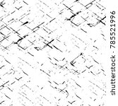 black white grunge pattern.... | Shutterstock . vector #785521996