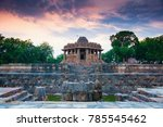 modhera sun temple  gujarat   Shutterstock . vector #785545462